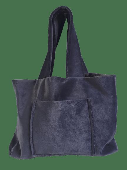 Cabas de ville bleu cobalt CVVCS0013